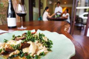Vegetarian Khmer food